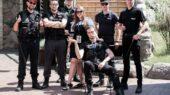 Komandos formavimo pratybos Policijos Akademijoje